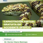 Accidente ofídico. Capacitación virtual
