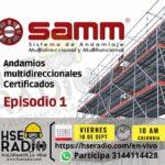 Andamios multidireccionales certificados