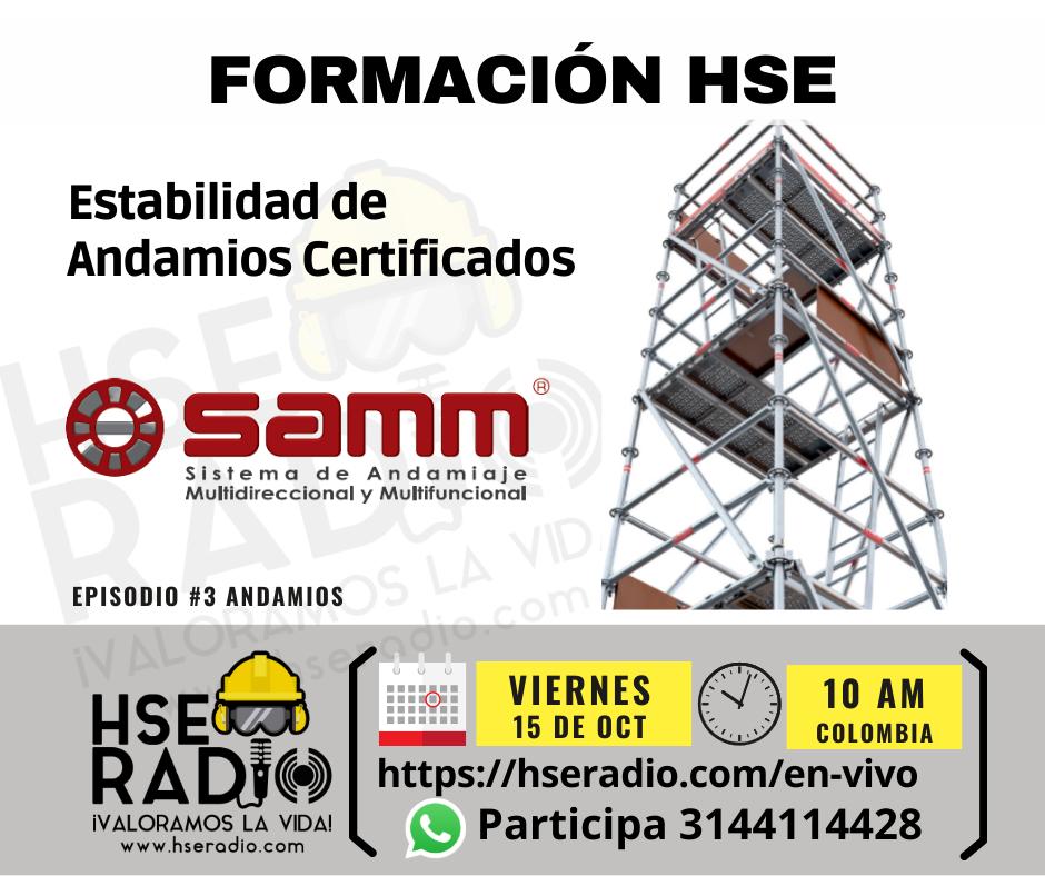 Estabilidad de Andamios Certificados